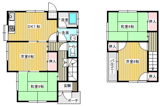 岡本貸家B2015